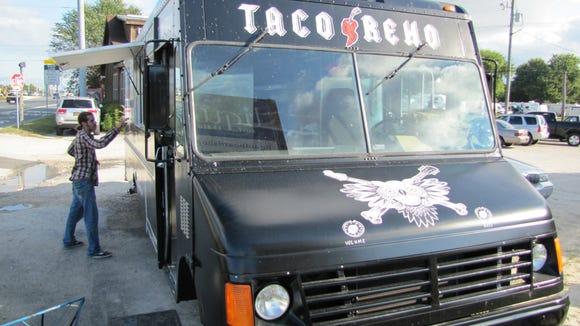 The Taco Reho food truck.
