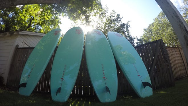 Rental paddleboards will be available this week on the Riverfront. More information in Thursday's Montgomery Advertiser.
