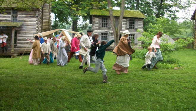 A group of reeanctors at a previous Heritage Days in Rockport. This year's event is 9 a.m. to 5 p.m. Saturday and Sunday.