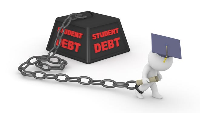 Student debt worries can leave students vulnerable to being scammed.
