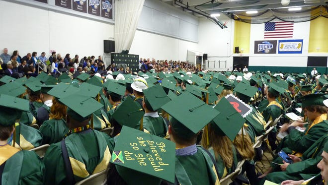 There were more than 1,500 students at the 2017 Raritan Valley Community College graduation Saturday in Branchburg.
