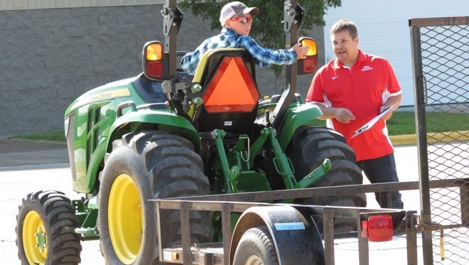 Register by July 14 for  UW-Extension of Marinette and Oconto Counties tractor and machinery safety certification course for youth.