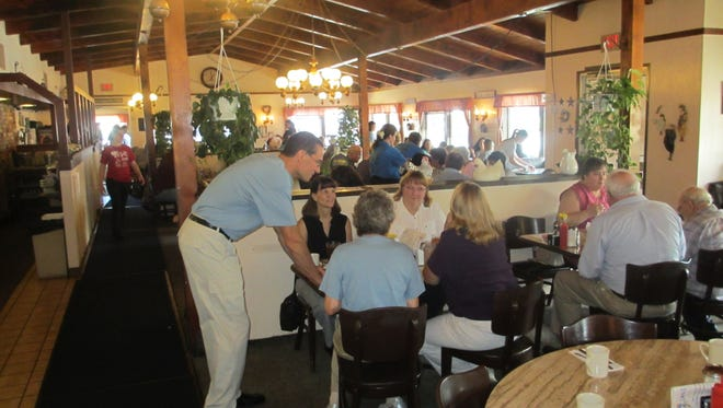 Sybil's Omelette's Unlimited enjoyed a hearty turnout when it celebrated 30 years of business in 2012.