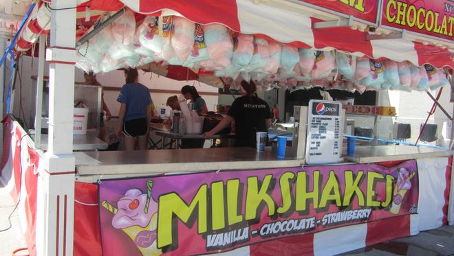 Take your time, pace yourself and stick everything in your face on the food midway of the Montana State Fair.