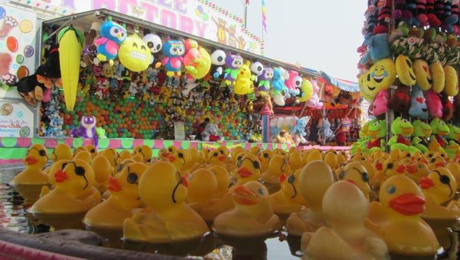 Test your luck (or your duck) on games galore at the 2018 Montana State Fair.