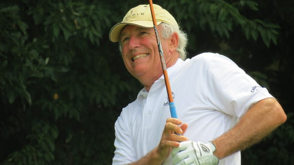 Cranford's Bill Henry repeated as titlist at the 7th New Jersey Super-Senior Amateur Championship.