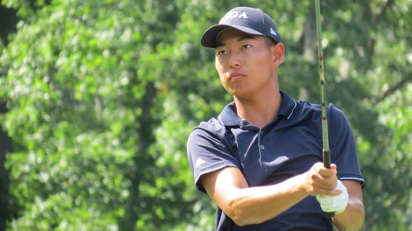 Justin Chae helped win last year's New Jersey Four-Ball
