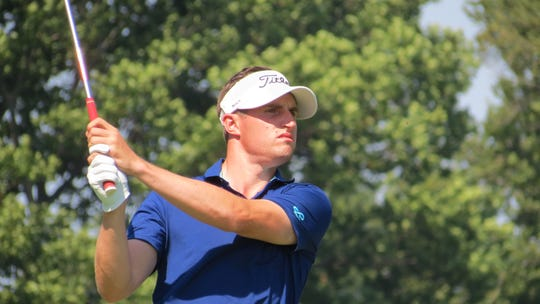 Alex Beach, an assistant pro at Baltusrol Golf Club,
