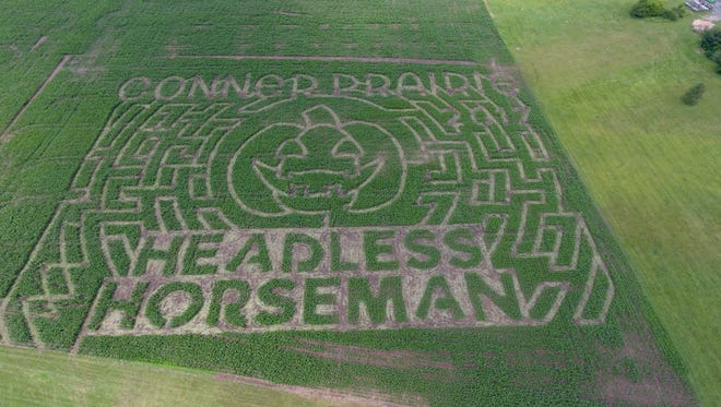 A 7-acre corn maze will open at Conner Prairie Sept. 23.