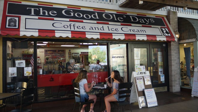 Good Ole' Days Coffee and Ice Cream at Fishermen's Village in Punta Gorda offers in-house roasted coffee, Big Olaf Ice Cream, lunch sandwiches and all-day breakfast.