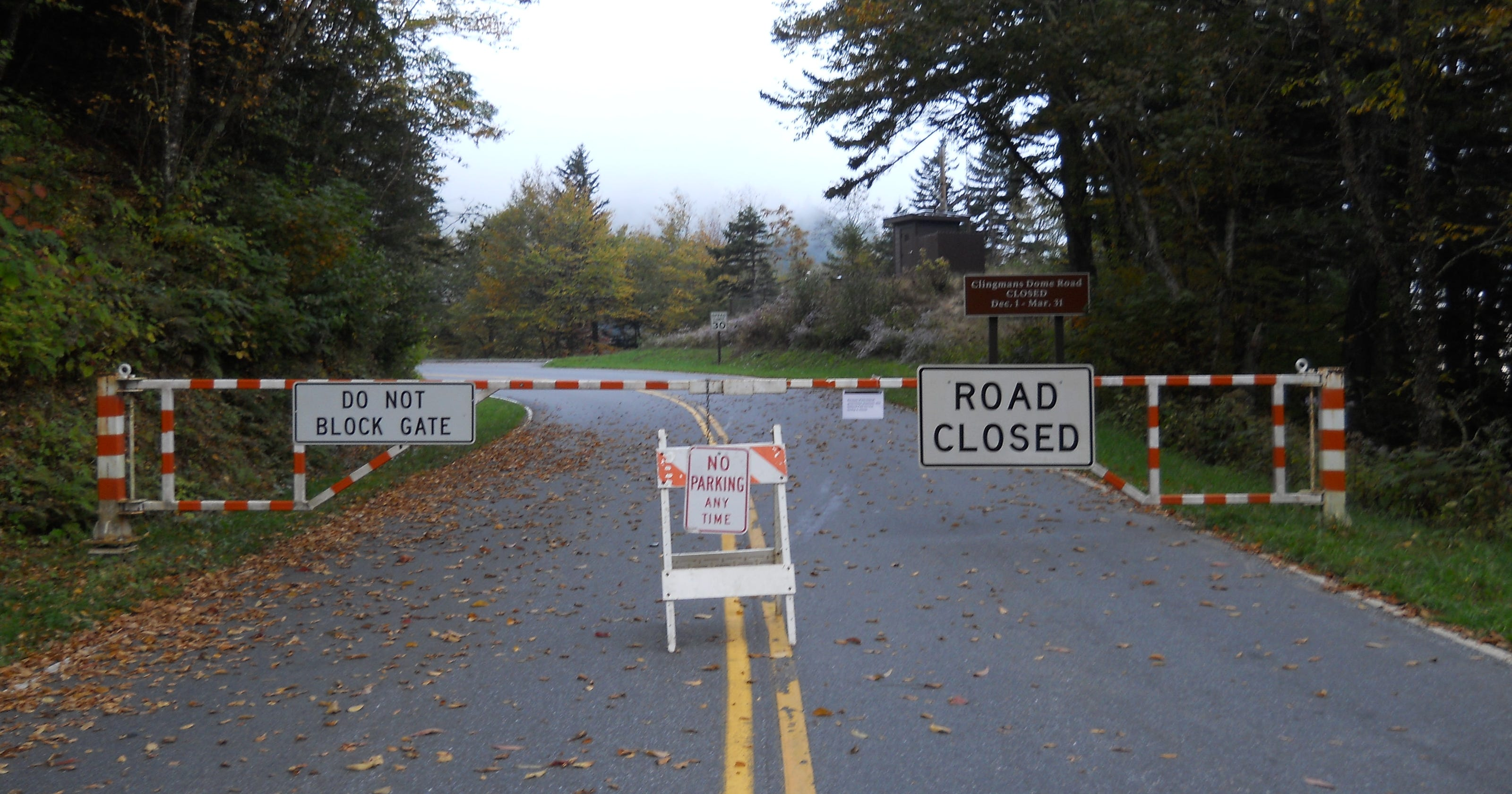 US 441 in Great Smoky Mountains National Park remains closed
