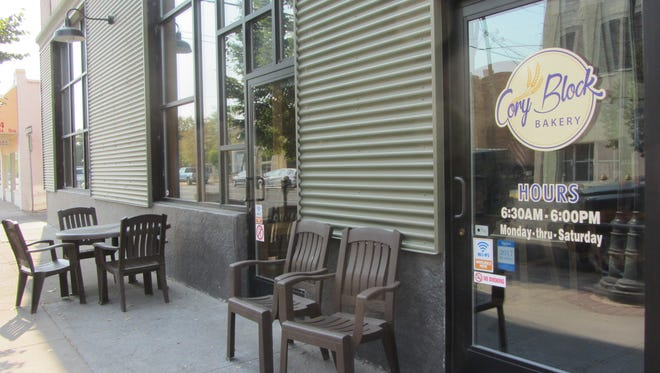 Enbar will occupy space that is currently overflow seating for Cory Block Bakery.