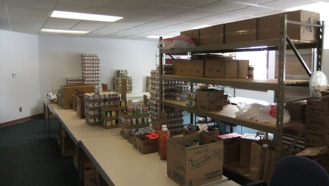 St. Vinnies Thrift Store's Food Pantry