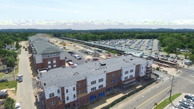 The Link at Aberdeen is a new transit village of one- and two-bedroom apartments scheduled to open soon near the Matawan-Aberdeen NJ Transit train station.