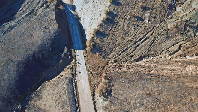 Caltrans announced the reopening of Highway 33 north of Ojai on Saturday, which had been closed due to mudslide damage since Jan. 9.