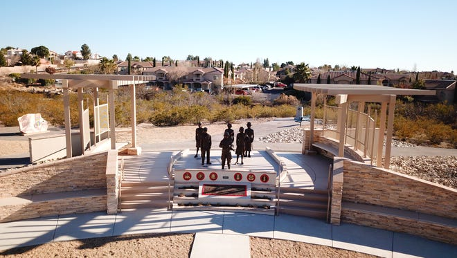 The Women Veterans Monument will be dedicated March 10 at Veterans Park.
