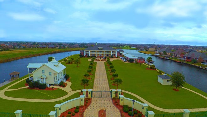 This 6 bedroom, 7 bath home is located at 238 Solomon Drive in Slidell, Louisiana and is listed at $3,650,000.