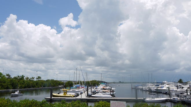 Free day dockage at the Laishley Park Municipal Marina is available on a first-come, first-served basis for attendees who go by boat to special events in downtown Punta Gorda's Laishley Park.