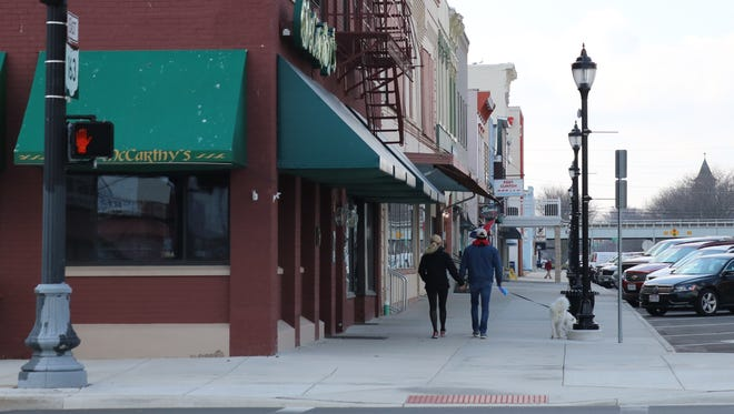 Main Street Port Clinton awarded $15,000 to local downtown business and property owners to make improvements, such as an outdoor seating area at McCarthy's Irish Pub.