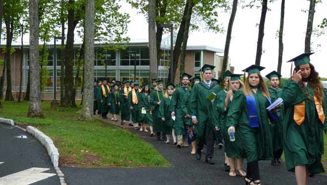Hundreds of graduates received their diplomas from Raritan Valley Community College on Saturday, May 12.