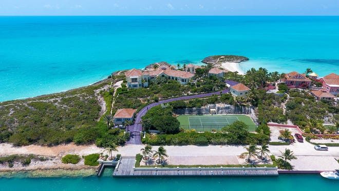 Prince's Caribbean mansion in Turks and Caicos is going on the auction block. It was previously listed for $12 million.
