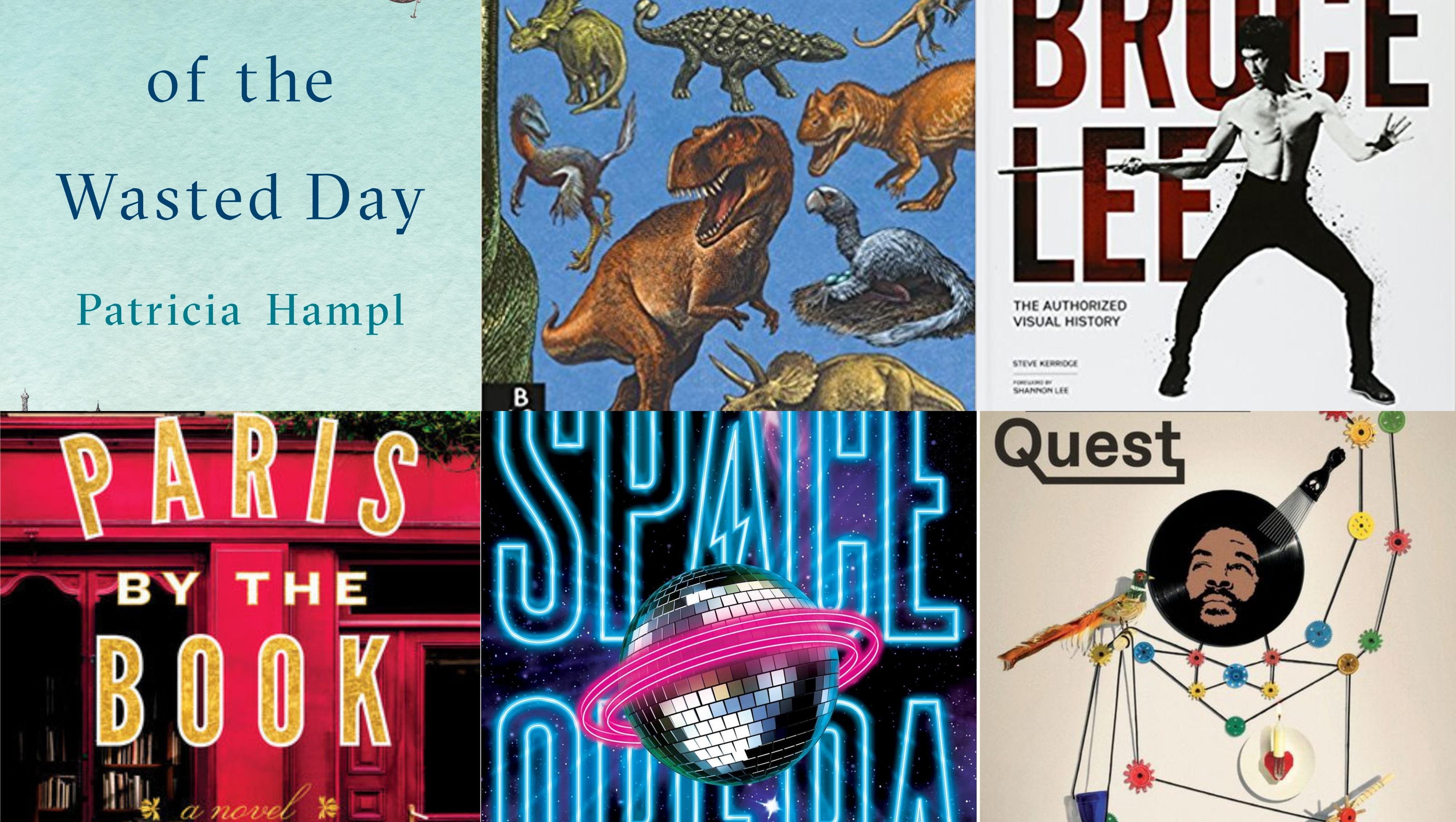 Book Cover Collage Quest ~ Books for summer reading in
