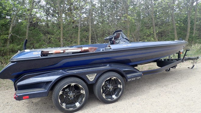 Boat stolen from Elk River business was found stripped in Watab Township park.