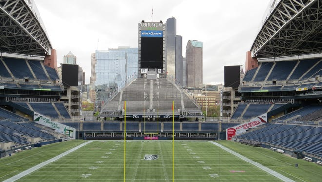 CenturyLink Field in Seattle provides Wi-Fi to fans.