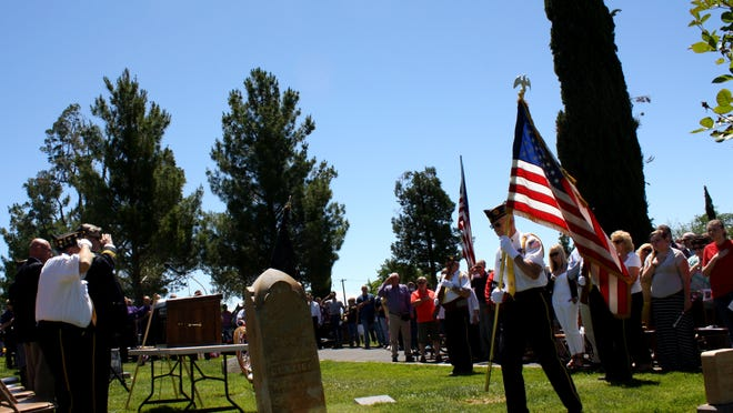 The American Legion St. George Post 90 hosted one of five Legion-sponsored Memorial Day events hosted throughout the Washington County area on Monday. Others hosted events in SunRiver, Hurricane, Washington City and Ivins City.
