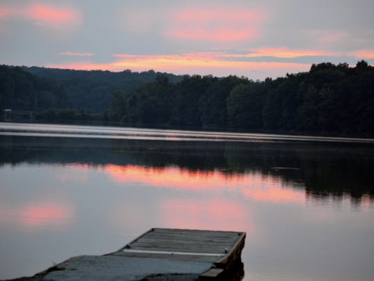 Warming water in shallow lakes like this may be the result of climate change.