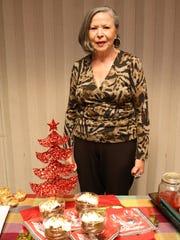 Verda Micelli poses with her Chocolate Avocado Pudding