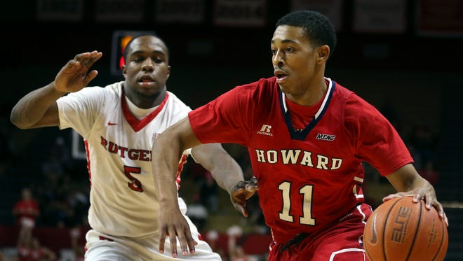 Graduate transfer James Daniel (11) led the nation with a 27-point average two seasons ago at Howard.