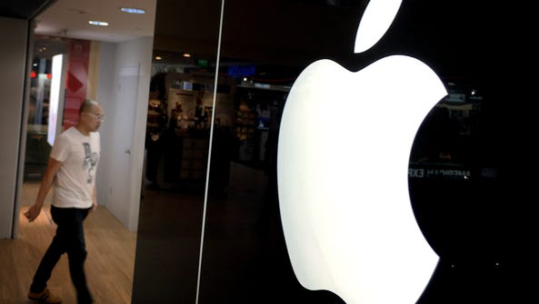 Apple shares are down 30% from last year's highs. That's