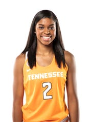 Evina Westbrook is starting as a freshman point guard for the University of Tennessee women's basketball team. Photo courtesy of Tennessee Athletics.