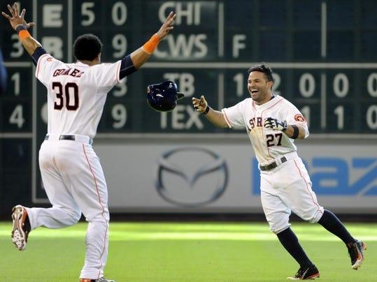 Tigers Astros Basebal_Penc