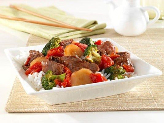 dinner in 30-teriyaki beef bowl