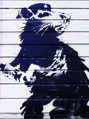 "Banksy, ""Haight Street Rat"""