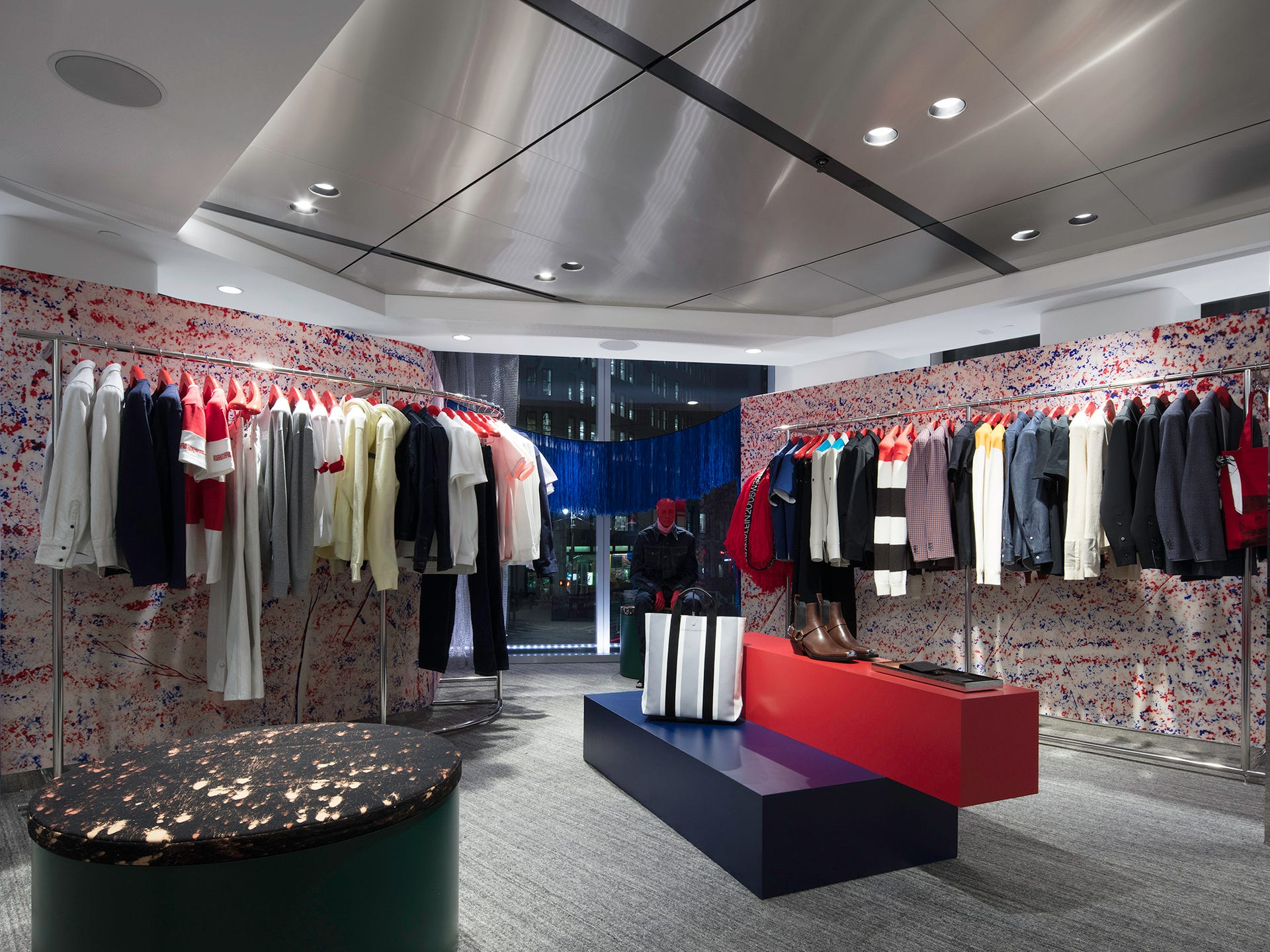 bd4ed00ee0d The Nordstrom NYC Men's Store offers cocktails and convenience