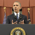 President Barack Obama addresses the country Sunday from the Oval Office, speaking about terrorism threats to the United States and the recent attack in San Bernardino, California.