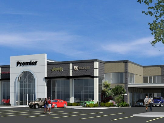 A rendering of the new Rockie Williams dealership to