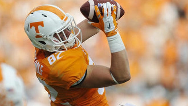 Tennessee tight end Ethan Wolf could change the game Saturday with a few big catches.