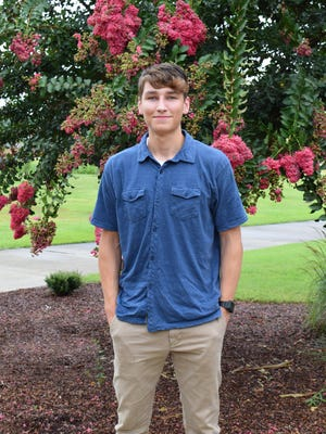 """Matt Bircher, second-year student at Craven CC, recently published his second book, """"A World Unknown."""""""
