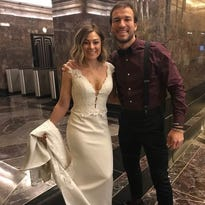 Life-saving love story reaches new heights with Valentine's Day wedding at Empire State Building