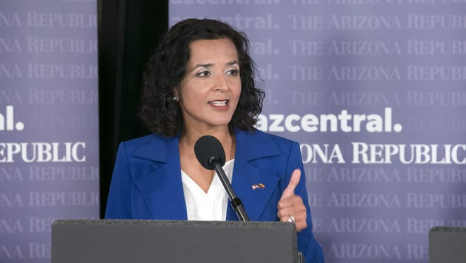 Democrat Hiral Tipirneni's West Valley congressional campaign has received the backing of a national groupthat wants to drive corporate cash out of politics.