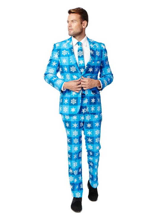 macy s to sell snowflake print suits