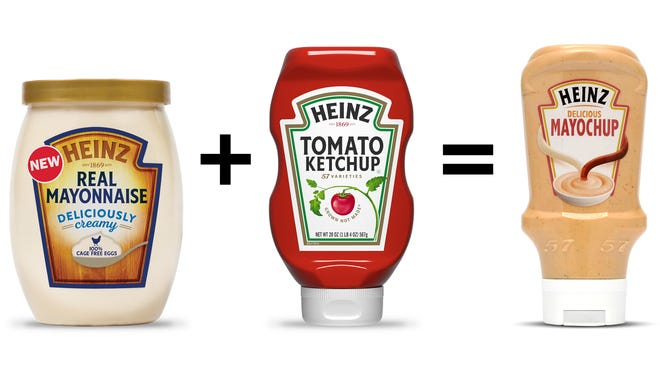 Heinz is considering selling in the U.S. a new condiment called Mayochup that combines mayonnaise and ketchup.