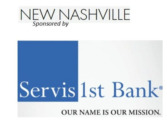 The New Nashville project is SPONSORED BY: Servis1st Bank