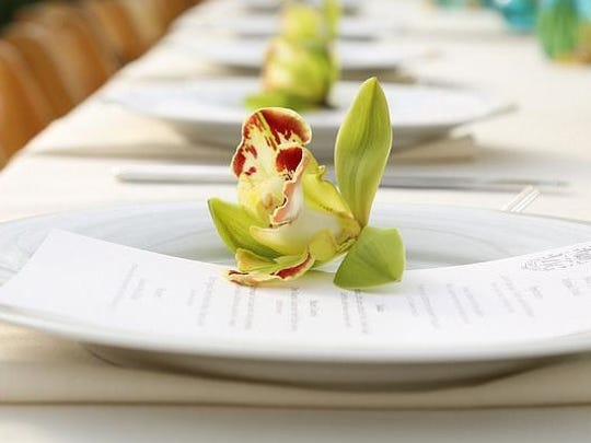 The greenhouses of Gallup & Stribling Orchids in Carpinteria will be the setting for a Field to Vase Dinner presented as part of a national tour of pop-up events organized by Certified American Grown Flowers.