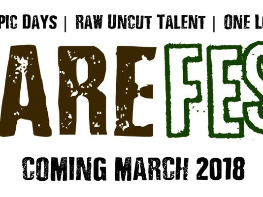 barefest logo