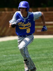 Clyde outfielder Robbie Webb was selected first-team